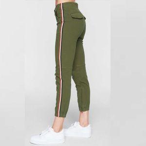 Pam & Gela Side-Stripe Cargo Pants Size 31